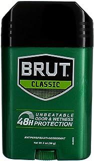 3 Pack - Brut Classic Deodorant and Antiperspirant - unbeatable odor & wetness protection 48H - 2 Oz
