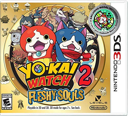 Yo kai Fleshy Souls – Nintendo 3DS – Standard Edition