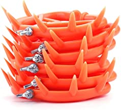 HEEPDD Calf Weaner, 6Pcs Farm Animal Weaner Cow Nose Ring Plastic Weaning Equipment for Calf Cow Cattle Prevent Sucking