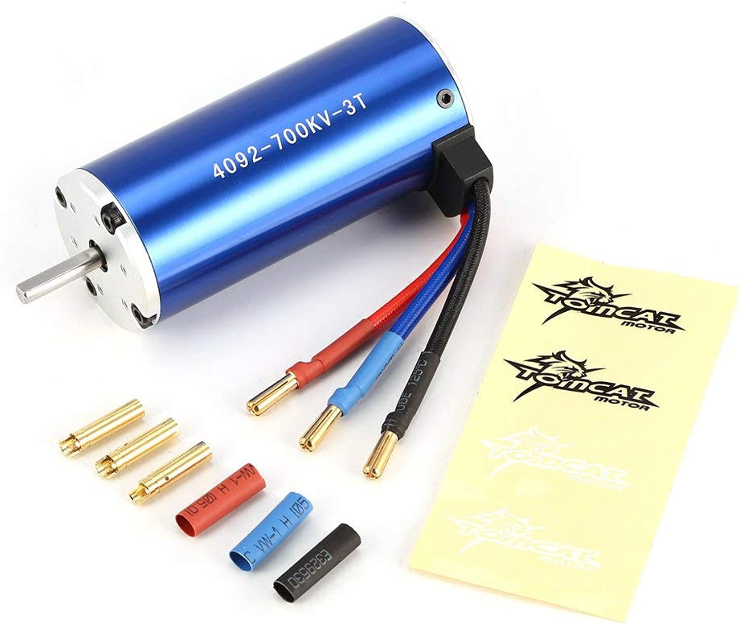CHOULI TCCY 4092 3T KV700 5mm Brushless Motor for 1 8 Bigfoot RC Car Model Parts