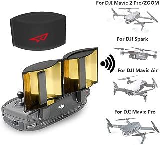 RCGEEK Drone Range Extender Signal Booster Antenna Foldable Compatible with DJI Mavic Pro Mavic 2 Pro/Zoom Mavic Air DJI Spark Remote Controller, 1 Piece