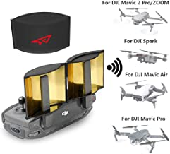 RCGEEK Drone Range Extender Signal Booster Antenna Foldable Compatible with DJI Mavic Pro Mavic 2 Pro/Zoom Mavic Air DJI Spark Remote Controller, 1 Piece