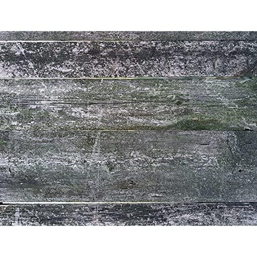 Fondo de fotografía de tablón de Madera apoyos Piso de tablón Fondo de Estudio fotográfico Fondo de fotografía de Vinilo A7 9x6ft / 2,7x1,8 m