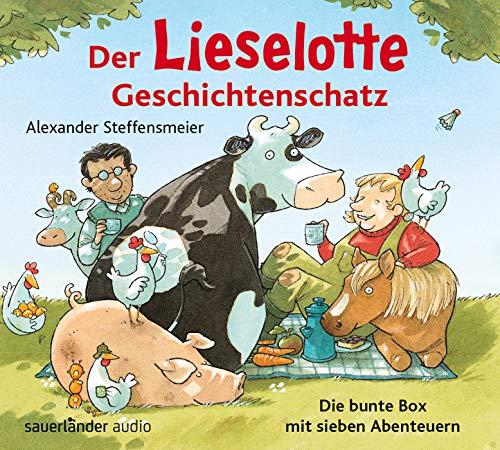 Der Lieselotte Geschichtenschatz: Die bunte Box mit sieben Abenteuern für Mädchen und Jungen ab 3 Jahren