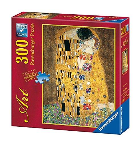 Ravensburger - Arte: Klimt, El Beso, Puzzle de 300 Piezas (14003 9)