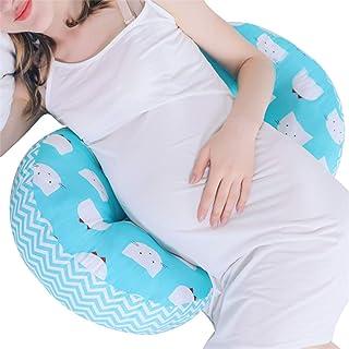 بالش بارداری به شکل UILORI برای زنان باردار و کمر درد , پشتیبانی از کمر ، باسن ، پاها ، شکم برای زنان باردار ، 8 گزینه