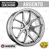 MACOTA 1210077 Vernice Argento Ruote Spray Smalto Speciale per Cerchioni-cod. 05691...