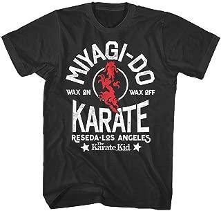 2019 Funny Karate Kid Miyagi-Do Dragon Reseda Los Angeles Men's T Shirt Bonsai Cobra Kai Unisex Tee : Gray, XXXL