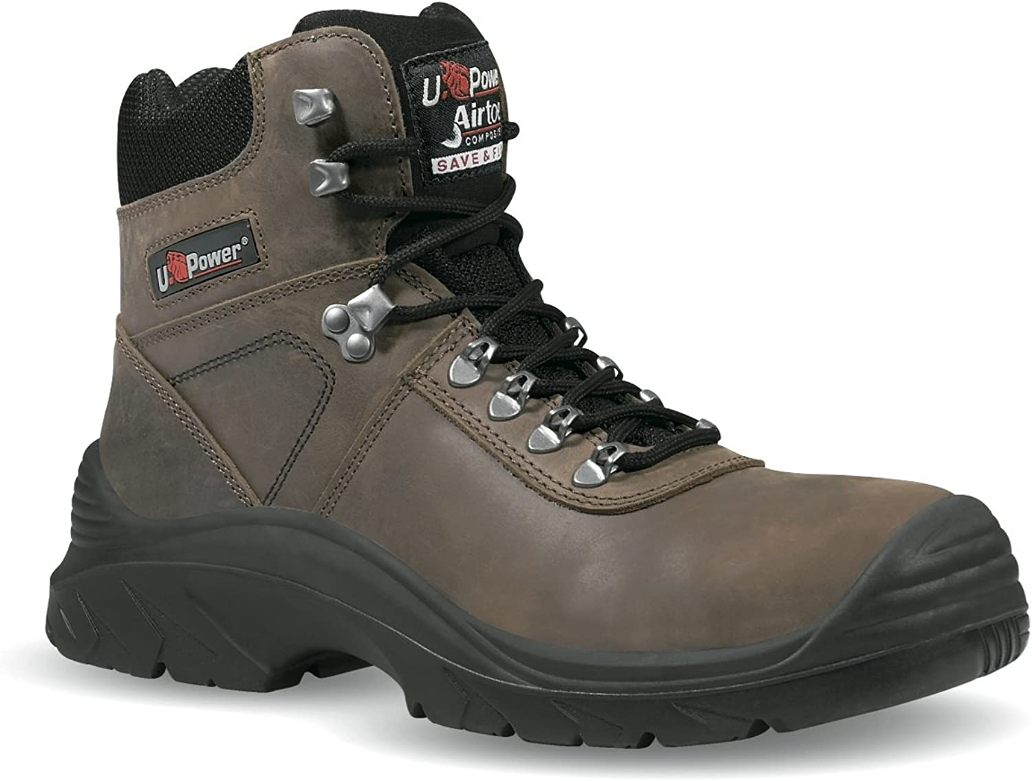 U-Power Brown Trial S3 Safety Boots - UK Size  5
