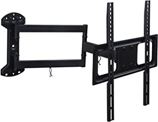Mount-It! Full Motion TV Wall Mount Arm with 24 Inch Extension, Fits 32 to 55 Inch TVs with Up to VESA 400 x 400, 77 Lbs C...