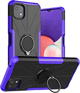 Wuzixi Case for Oppo A95 5G, TPU/PC Hybrid Armor Double Phone Case, Built-in 360° Rotating Bracket, Cover for Oppo A95 5G....