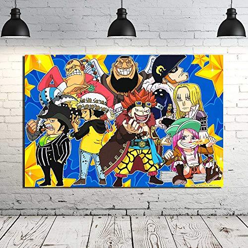AJleil Puzzle 1000 Piezas Pintura Decorativa Pintura Anime Imagen de Arte Moderno Puzzle 1000 Piezas Animales Educativo Divertido Juego Familiar para niños adultos50x75cm(20x30inch)