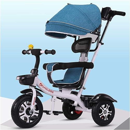 precioso YINGH - Triciclo de Niños Niños Niños Tricley para Niños 1-3-6 años Cochecito de bebé Bicicleta para Niños Bicicleta grande y ligera para bebés  barato