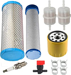 Panari 25 083 01-S 25 083 04-S Air Inner Filter with 52 050 02-S1 Oil Filter for Kohler CH18-CH26, CV16-CV26, CH730-CH750, CV740 CV745 LH640 LH685 16 HP-26 HP Engines