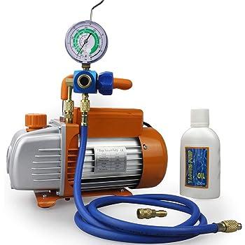 Klimaanlage Vakuum Manometer 1//4 SAE 1//4 SAE