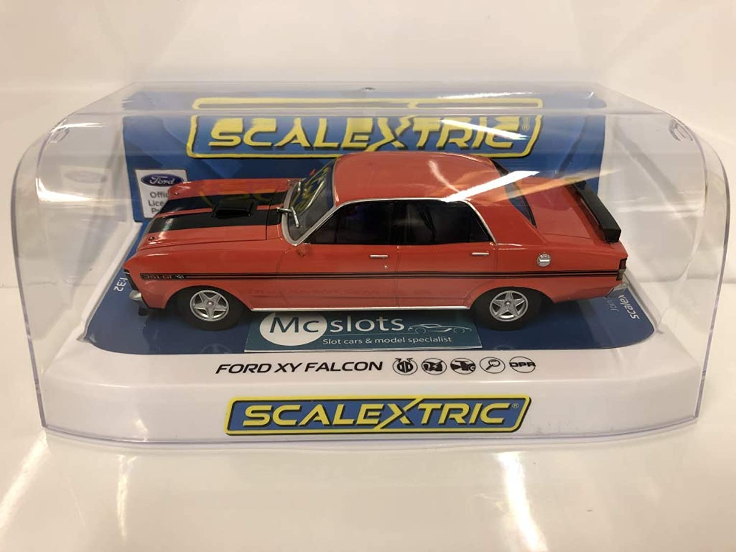 Scalextric C3937 Ford XY Road Car Candy Apple Red
