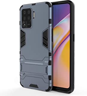 TingYR Case for Oppo A94, Foldable Holder, TPU/PC Shockproof Phone Cover, Full Body Protection Cover, Phone Case for Oppo ...