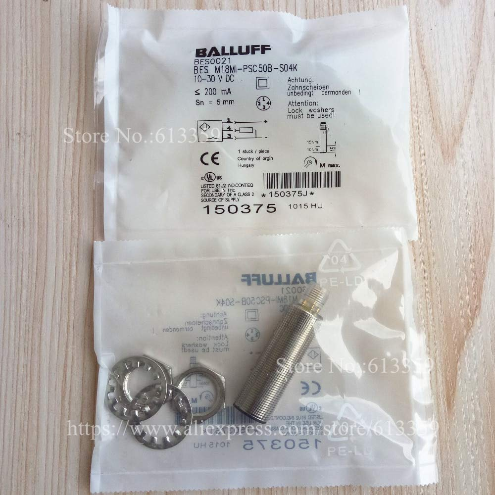 Lowest price challenge Fevas Balluff Proximity Boston Mall Switch BES Sensor New M18MI-PSC50B-S04K