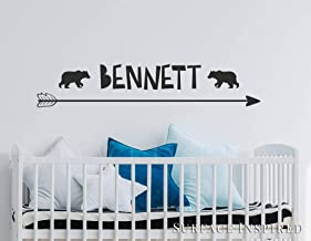 Name Wall Stickers Decal Personalized Decal Removable Wall Decal Sticker Surface Inspired 1044