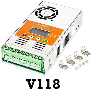 MakeSkyBlue MPPT Solar Charge Controller 60 Amp Solar Charge Regulator with LCD Display for 12V 24V 36V 48V System Version V118 Energy Controller