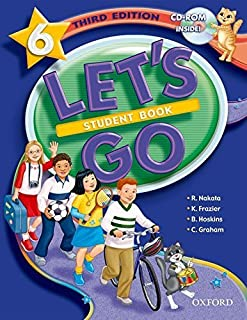 Let's Go 6 Student Book with CD-ROM (Let's Go Third Edition) by Ritsuko Nakata Karen Frazier Barbara Hoskins Carolyn Graha...