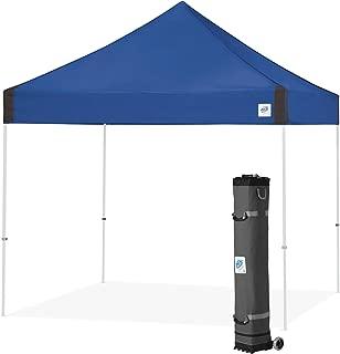 E-Z UP Vantage Instant Shelter Canopy, 10 by 10', Royal Blue