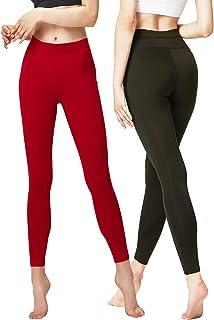Jotebriyo Womens High Waist Sport Gym Workout Gradient Color Yoga Legging Pants