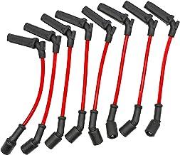 KIPA Performance Spark Plug Wires for Chevy GMC 1999-2006 LS1 VORTEC 4.8L 5.3L 6.0L Buick Rainer 5.3L 2004, Replace OEM Pa...
