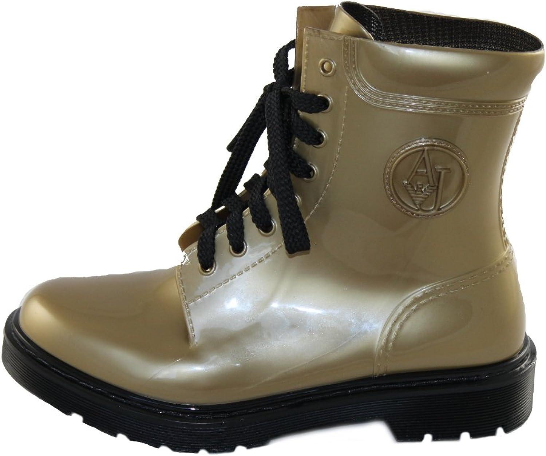 Armani Jeans Damen Stiefel Gummistiefeletten Stiefel 925118