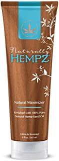 naturally hot tanning lotion