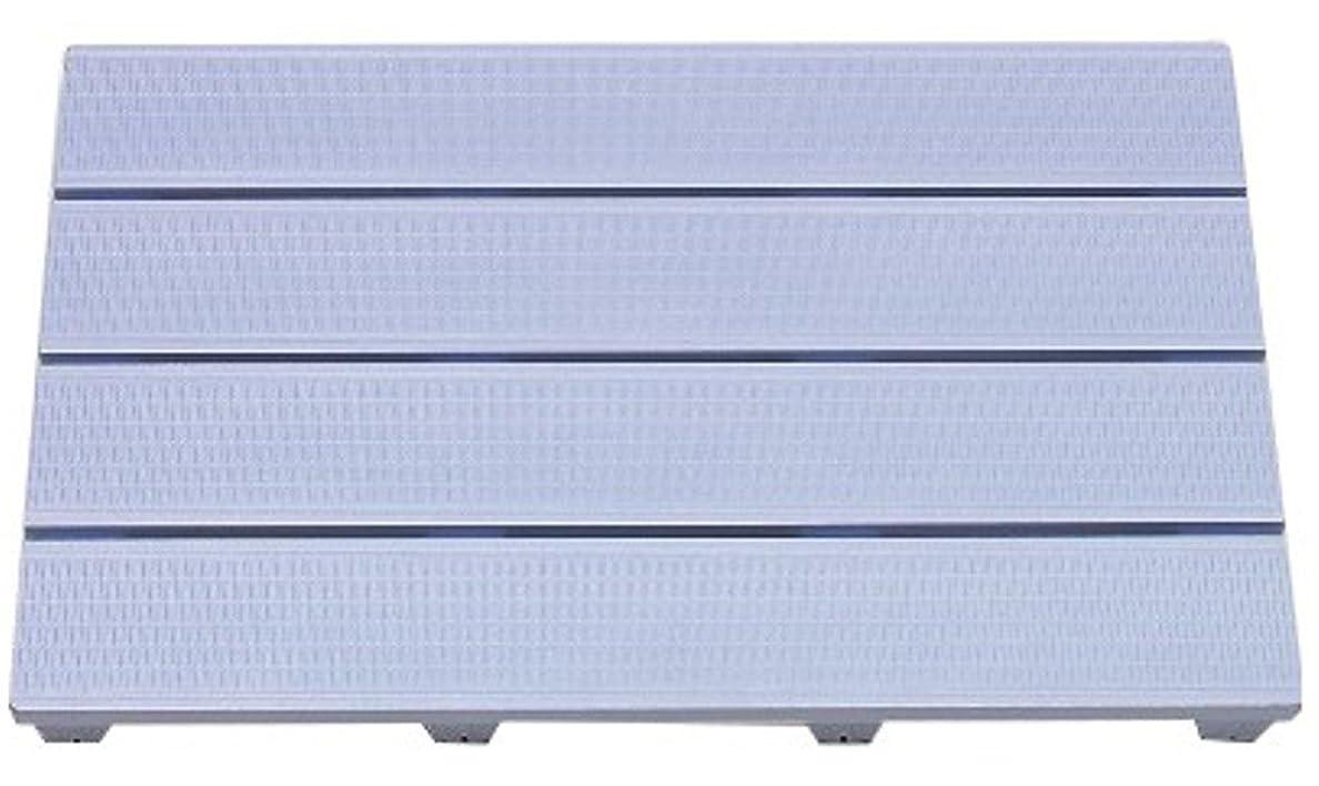 ブラインド郵便局記念日東プレ 風呂 すのこ ハード 樹脂 ブルー 40×60cm SKH-36