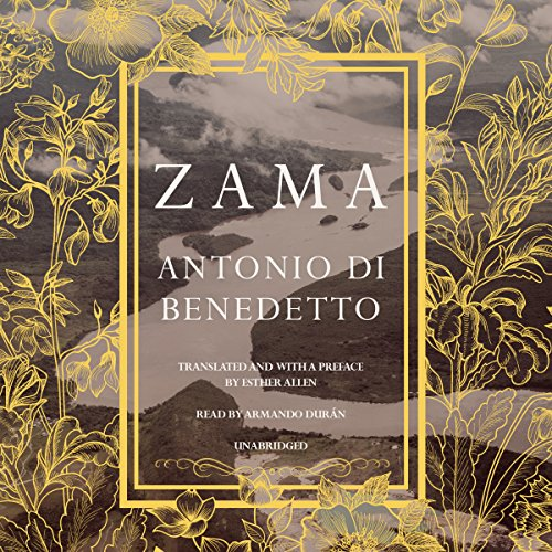 Zama audiobook cover art