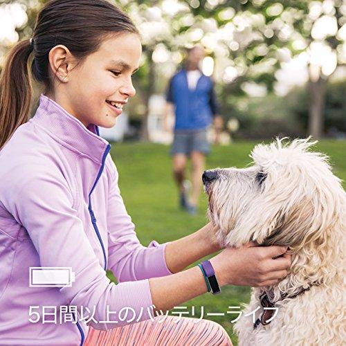 FitbitAceフィットネストラッカーPowerPurpleワンサイズFB411SRPM-CJK