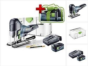 Size Colore: Festool 576619 PS 420 EBQ-Plus-Seghetto Alternativo 550 Watt
