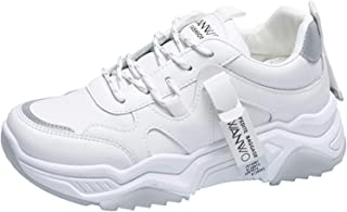 ASMCY Ligero Respirable Mujeres Zapatillas de Deporte, Al Aire Libre Casual Zapatos para Correr Moda Zapatillas para Camin...