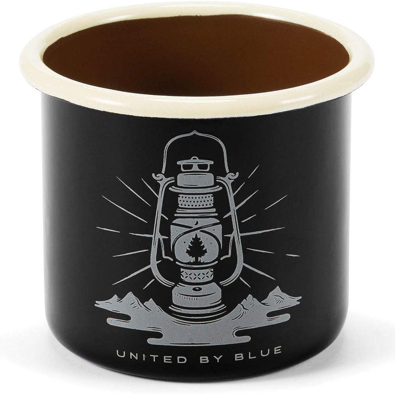 United By bluee12oz Enamel Steel Mug