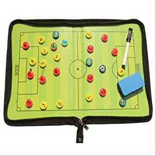 Vaorwne Football/Soccer Magnetic Board Winning Strategy Board with Marker Pieces