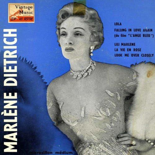 """Marle Dietrich & At """"Café De Paris"""""""