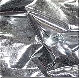 eventkauf Lycra Stoff Meterware am Stück (Silber)