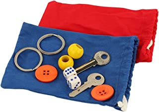 Mystery Bag Montessori teaching aids,Familiar objects cognitive early education educational toys, Solid geometric objects ...