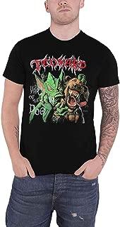 T Shirt Hair of The Dog Band Logo Official Mens Black