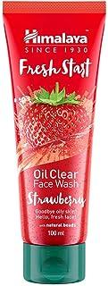 Himalaya Fresh Start Oil Clear Face Wash, Strawberry, 100ml