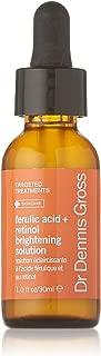 Dr Dennis Gross Skincare Ferulic Acid Plus Retinol Brightening Solution, 1 Ounce