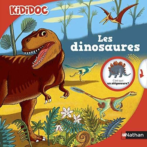 Les dinosaures - livre animé Kididoc - Dès 4 ans (10)