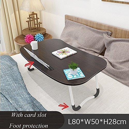 XIA Noir Vert-1 Rose-1 Vert-2 Rose-2 Blanc Redwood Couleur Noyer Clair Noir Noyer Beige Nostalgique Bureau d'ordinateur Table pliante Table d'étude 70 * 40 * 28cm (longueur * largeur * hauteur) 80 * 5