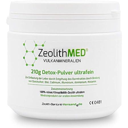 Zeolita MED 200 Cápsulas desintoxicantes: Amazon.es: Salud y ...