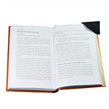Rustic Leather Corner Bookmark 3-Pack Handmade by Hide & Drink :: Charcoal Black