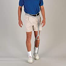 Sammons Preston Lema Strap, Leg Flexion Straps, Leg Brace Provides Dorsiflexion, Hip Hiking, and Rotation, Creates Normal Walking Posture and Form, Stroke Patient Rehab and Recovery Aid, Walking Aid