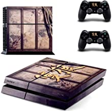 Sekiro Shadows Die Twice PS4 Wrap Skin Cover - Playstation 4 Vinyl Decal Sticker Protective for PS4 Console and 2 PS4 Controller by Mr Wonderful Skin
