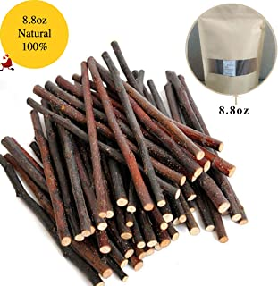 250g and 500g Natural Apple Sticks Small Animals Molar Wood Treats Toys Chinchilla Guinea Pig Hamster Rabbit Gerbil Parrot Bunny and Small Animals Chew Stick Toys Treats